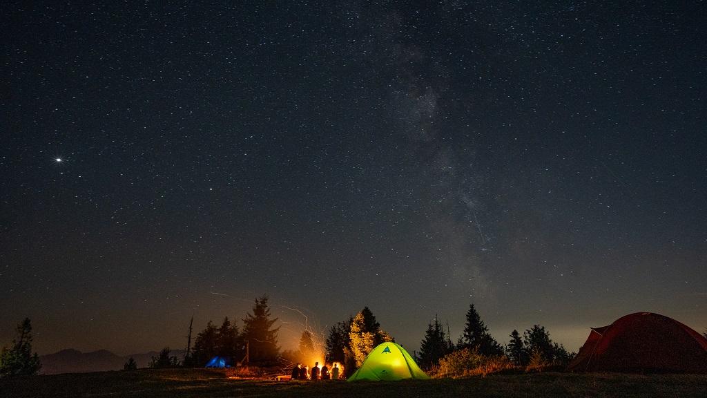 Wielka Racza pod namiotem