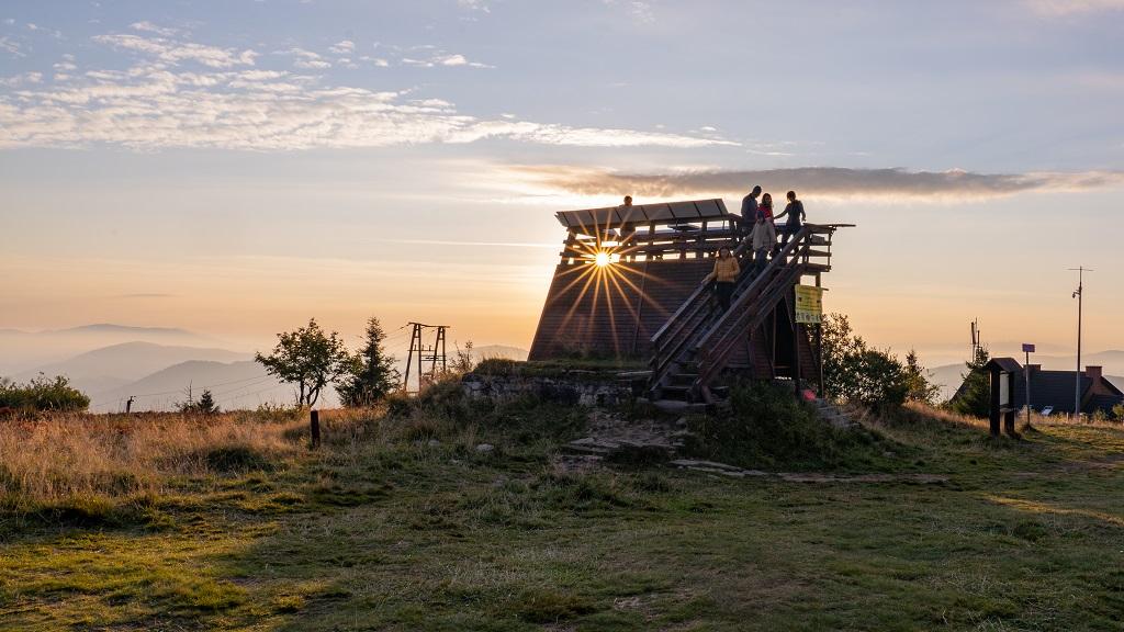 Wielka Racza wieża widokowa