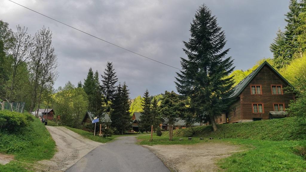 szlak na Wierchomlę