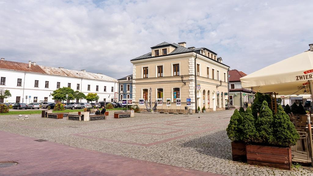 Rynek Solny w Zamościu