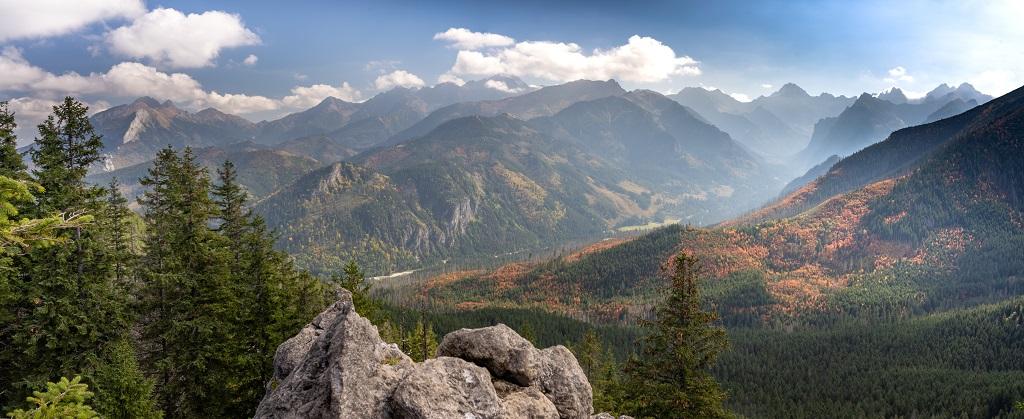 Gęsia  Szyja panorama